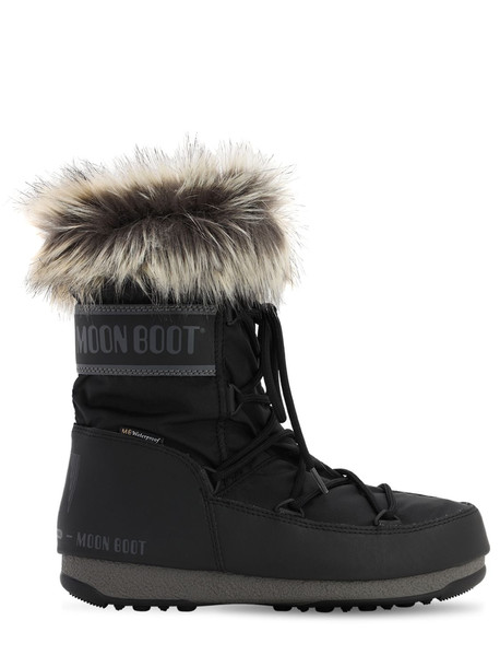 MOON BOOT Monaco Low Wp 2 Boots in black
