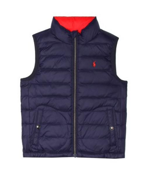 Polo Ralph Lauren Kids Reversible quilted down vest