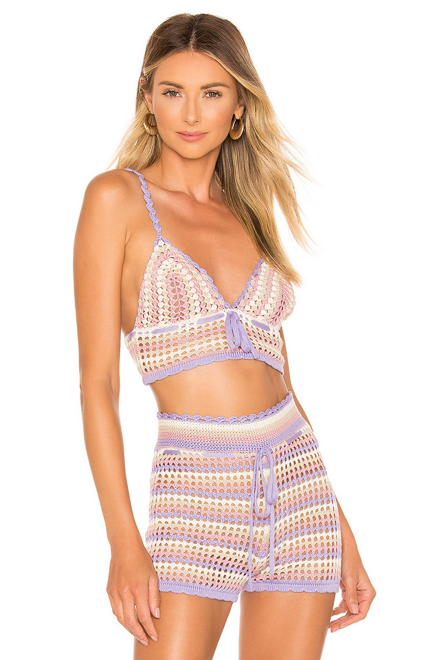 House of Harlow 1960 x REVOLVE Canyon Bralette in lavender