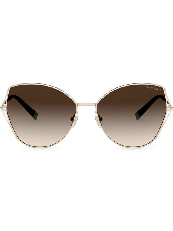 Tiffany & Co Eyewear Butterfly cat-eye frame sunglasses in gold