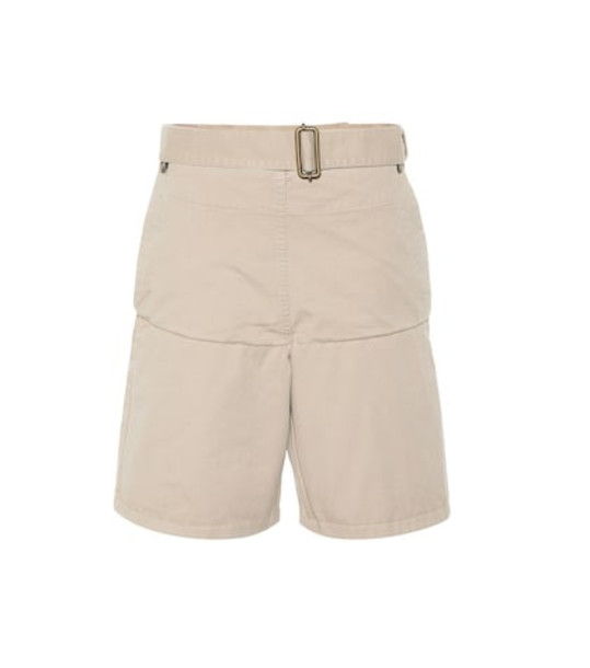 JW Anderson Cotton shorts in beige