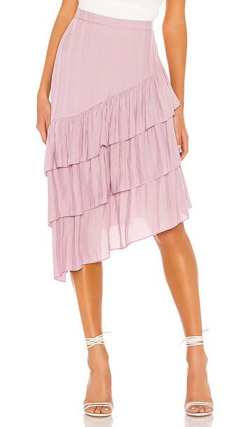 Tularosa Greta Skirt in Purple