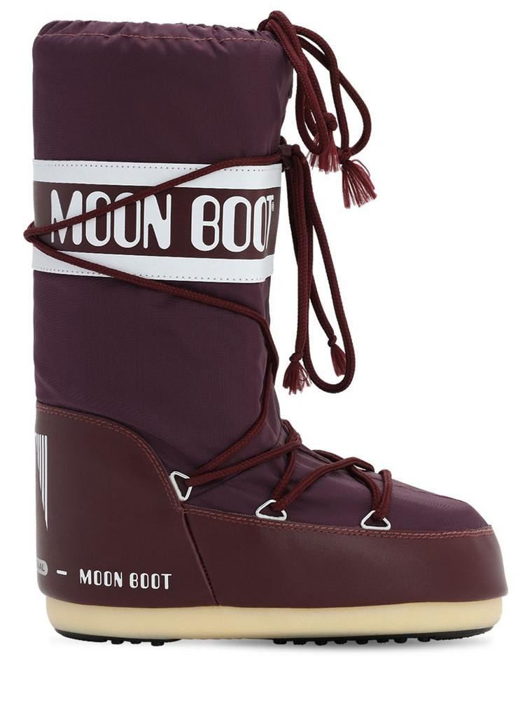 MOON BOOT Classic Nylon Waterproof Snow Boots