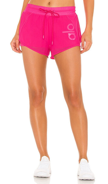 alo Ambience Short in Pink