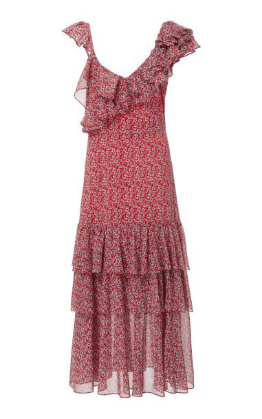 Marissa Webb Lisandra Print Dress Size: L