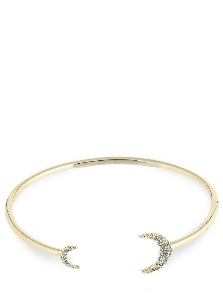 ISABEL MARANT Full Moon Cuff Crystal Bracelet in gold