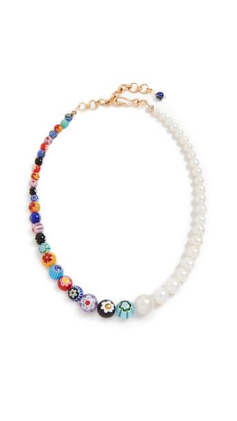 Brinker & Eliza Better Half Necklace in multi