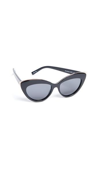Le Specs Beautiful Stranger Sunglasses in black