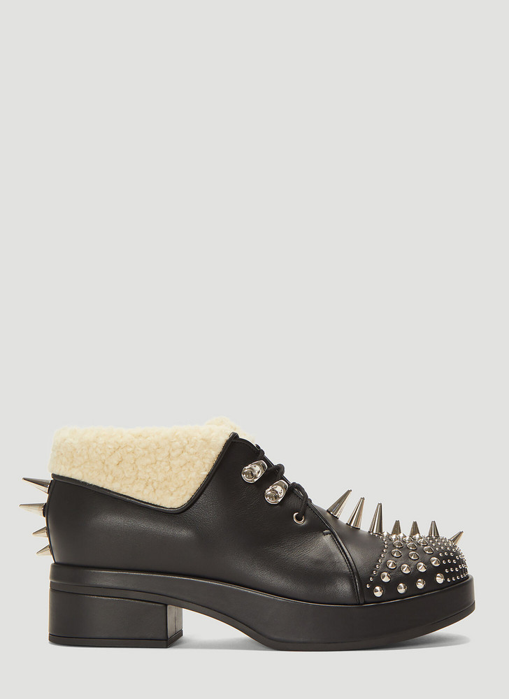 Gucci Embellished Victor Boots size EU - 39 in black