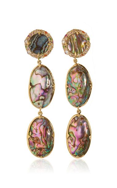 Sylvie Corbelin One of a Kind Eau Revante Earrings in multi
