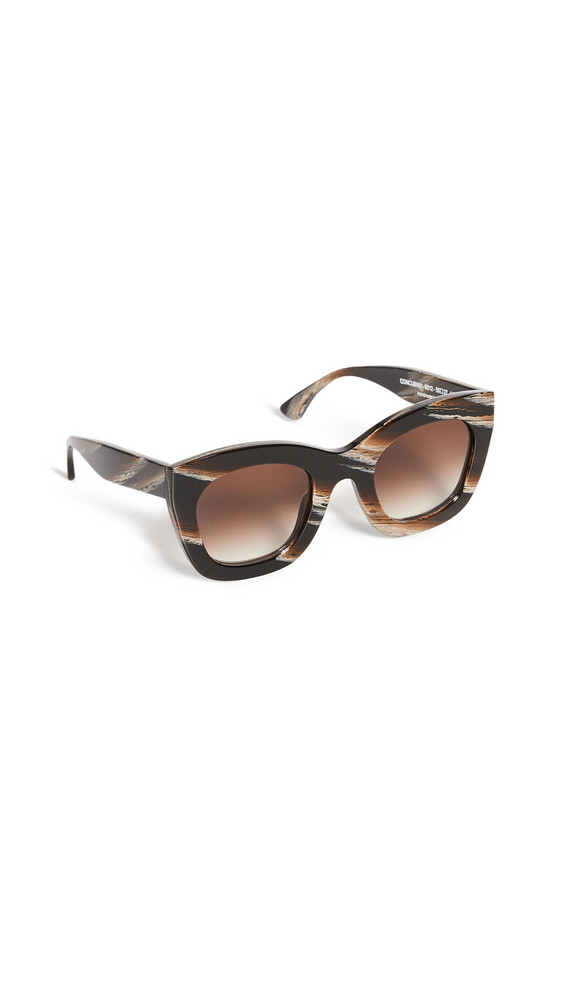 Thierry Lasry Concubiny 6312 Sunglasses in brown