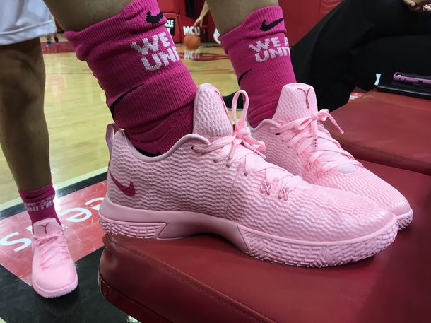 shoes, basketball shoes, pink