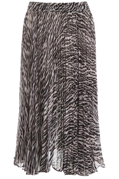 MICHAEL Michael Kors Safari Midi Skirt in black