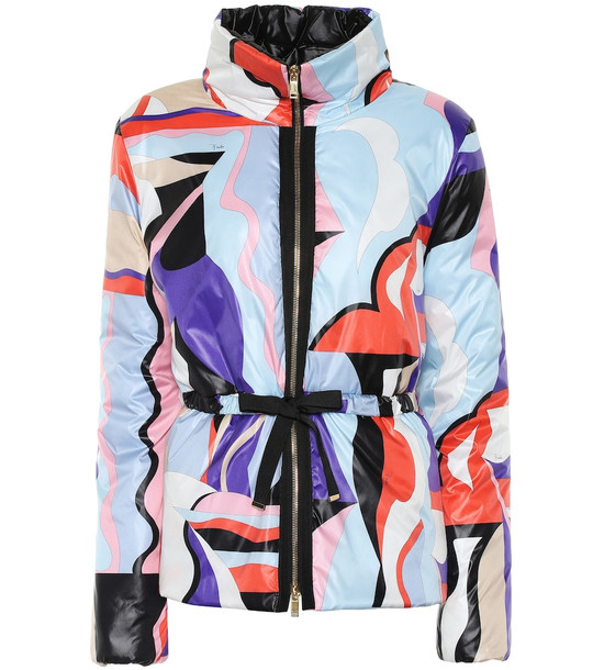 Emilio Pucci Printed quilted jacket