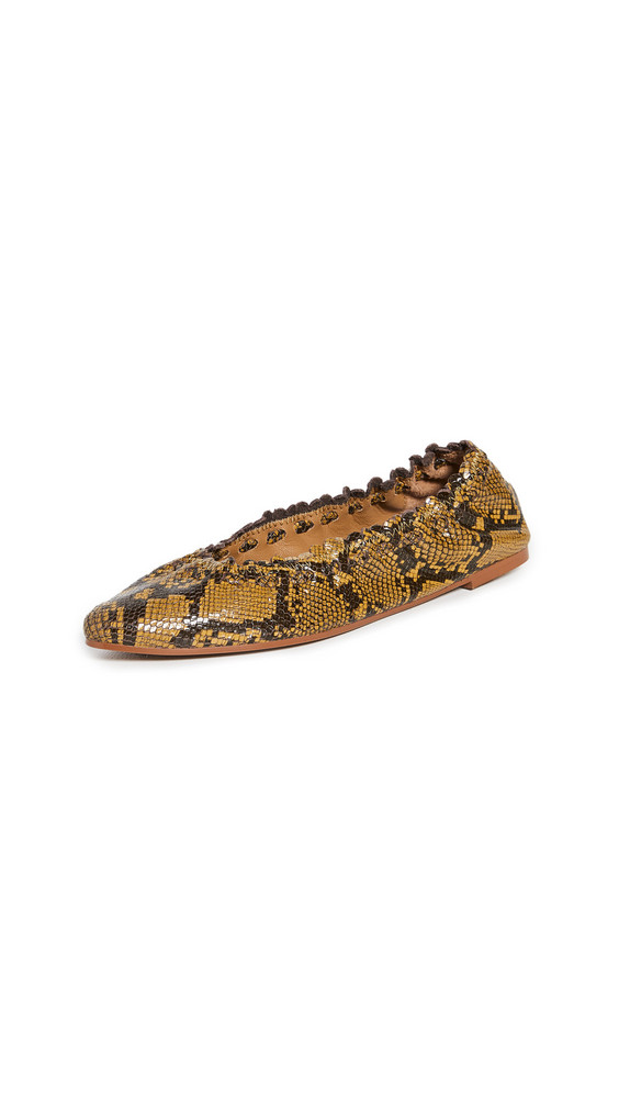 See by Chloe Jane Ballet Flats in yellow