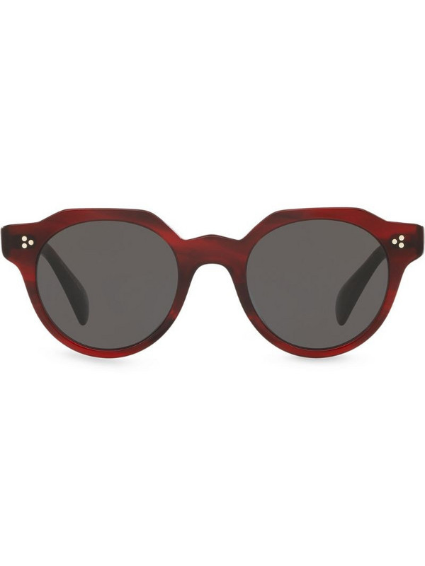 Oliver Peoples Irven sunglasses in red