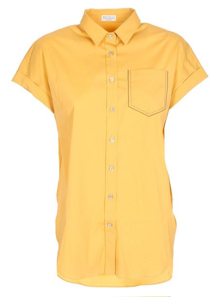 Brunello Cucinelli Short Sleeved Shirt