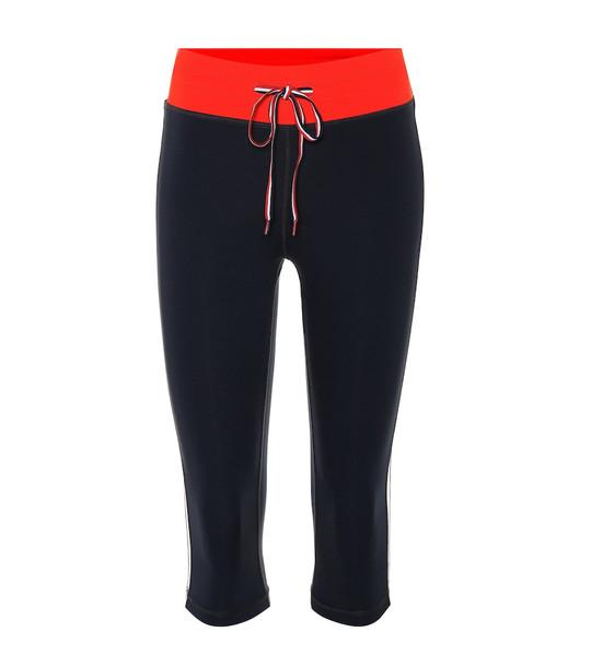 The Upside Power Pants 3/4 leggings in blue