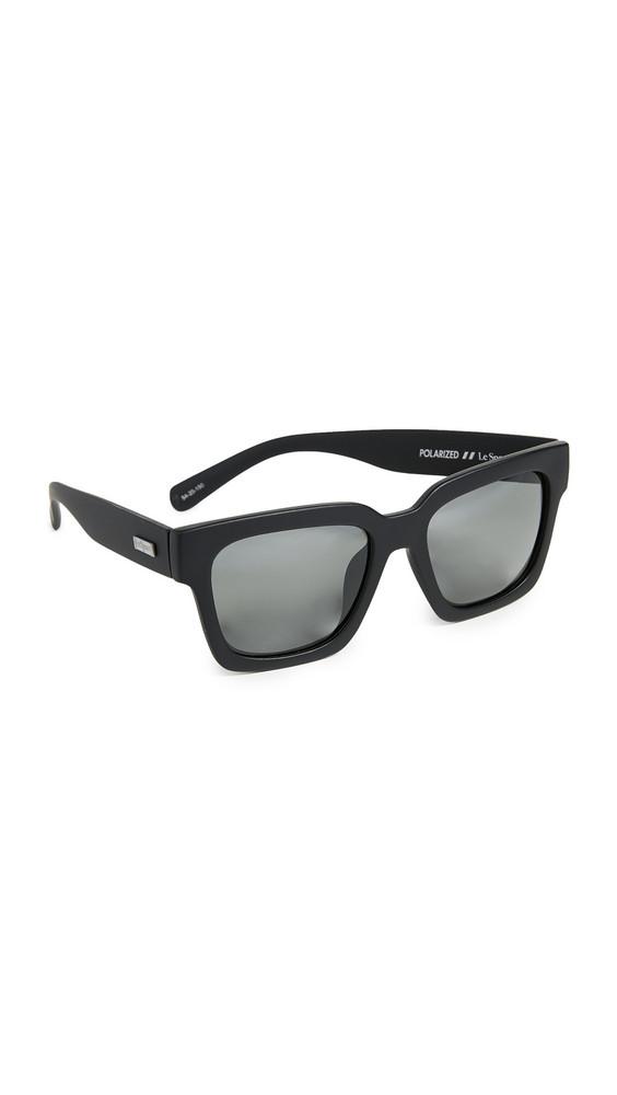 Le Specs Weekend Riot Sunglasses in black