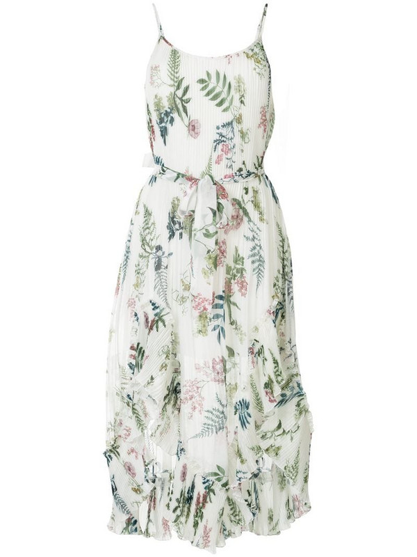We Are Kindred Frankie pleated dress in white