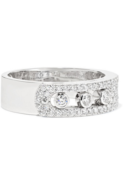 Messika - Move Noa 18-karat White Gold Diamond Ring