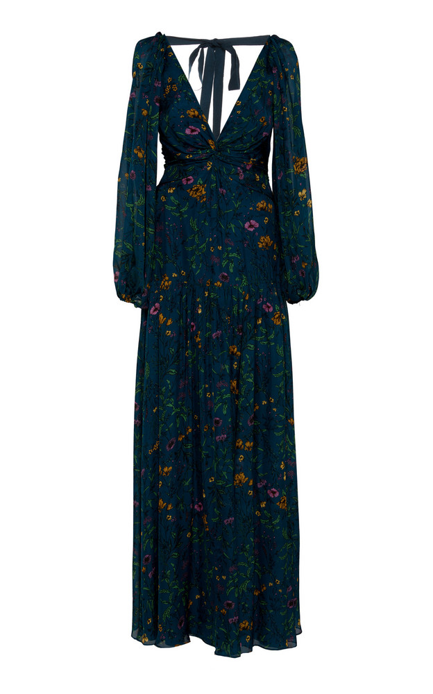 AMUR Gwenevere Floral-Patterned Maxi Dress in print