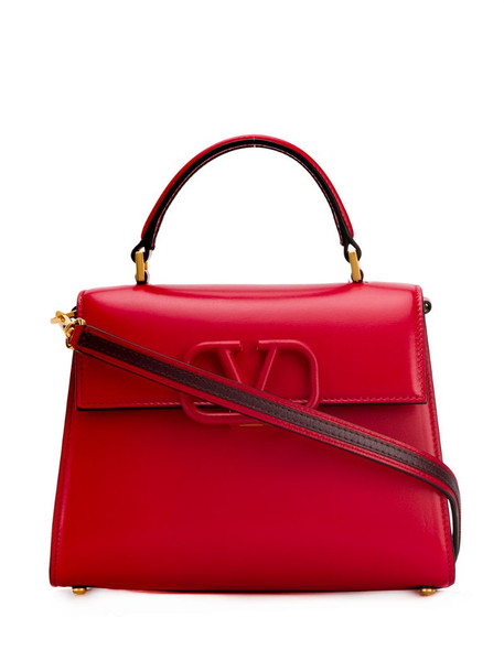 Valentino Garavani VSLING top handle bag in red