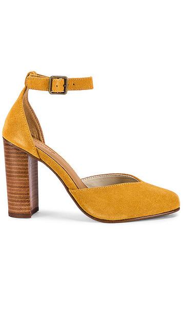 Soludos Collette Heel in Mustard