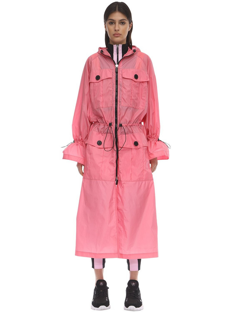 NO KA'OI Recognition Trench Coat in pink