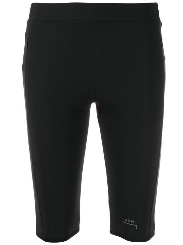 A-COLD-WALL* logo cycling shorts in black