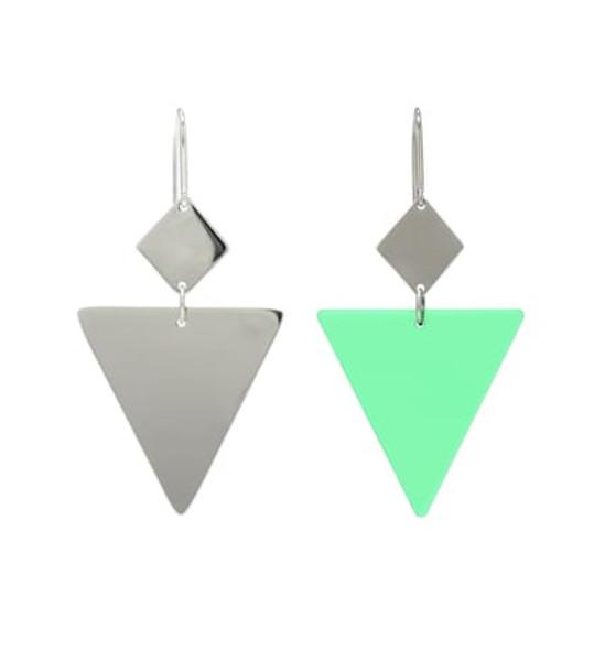Isabel Marant Resin and silver-tone metal earrings