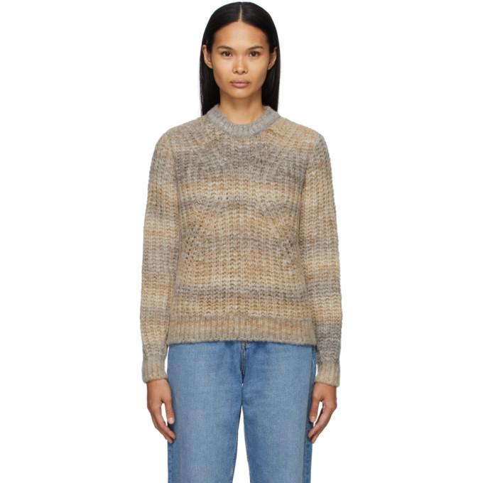 A.P.C. A.P.C. Brown Marianne Sweater in beige