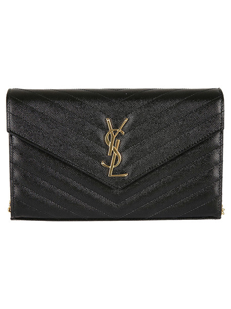 Saint Laurent Saint Laurent Monogram Shoulder Bag in nero