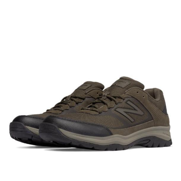 New Balance 669 Men's Trail Walking Shoes - Brown/Orange (MW669GR)