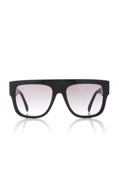 Alaia Sunglasses L'Arabesque Studded Acetate Sunglasses in black