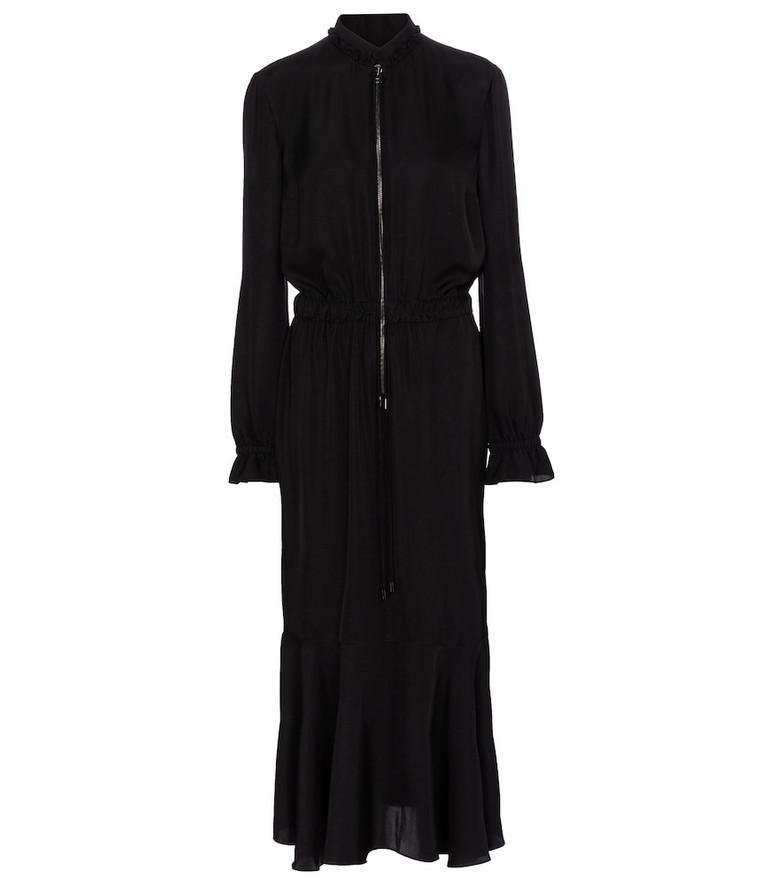 Tom Ford Zipped midi dress in black