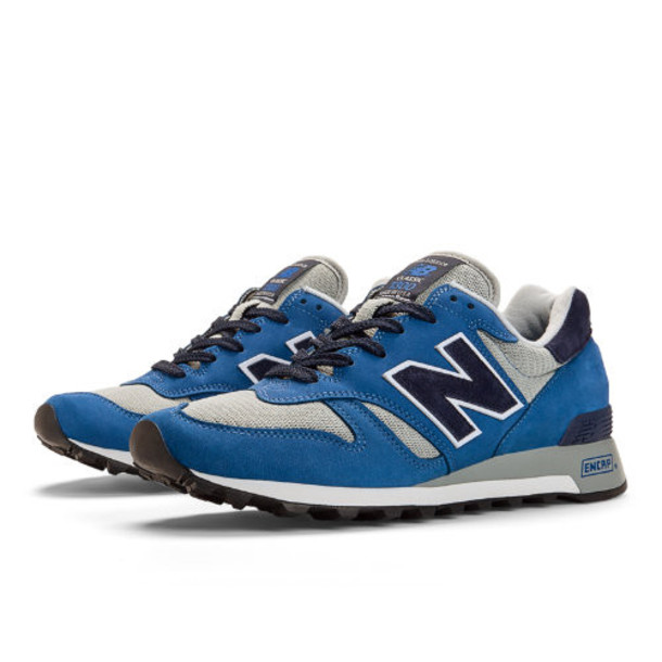 New Balance Renegade 1300 Men's Made in USA Shoes - Grey, Electric Blue, Navy (M1300LIN)