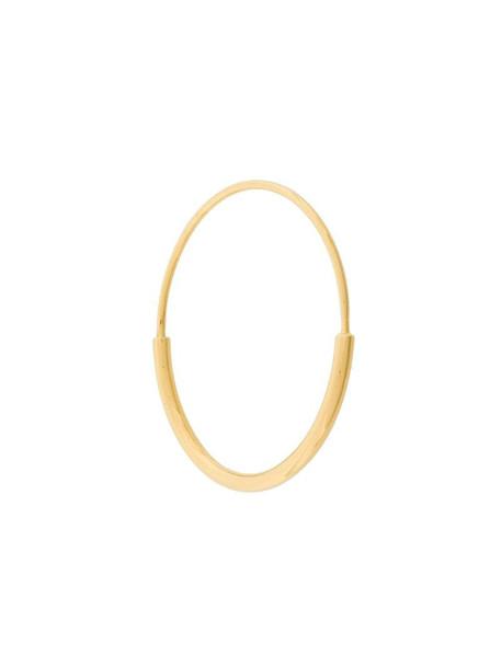 Maria Black Delicate Hoop 26 earring in yellow