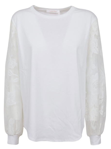 See by Chloé See by Chloé Top in white