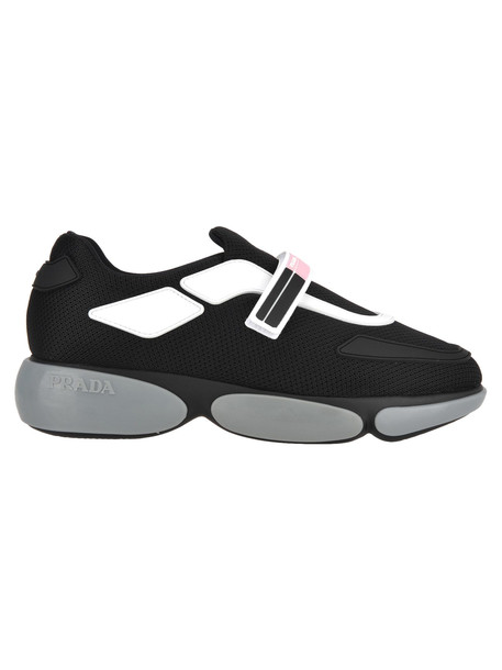 Prada Prada Cloudbust Sneakers in black / silver