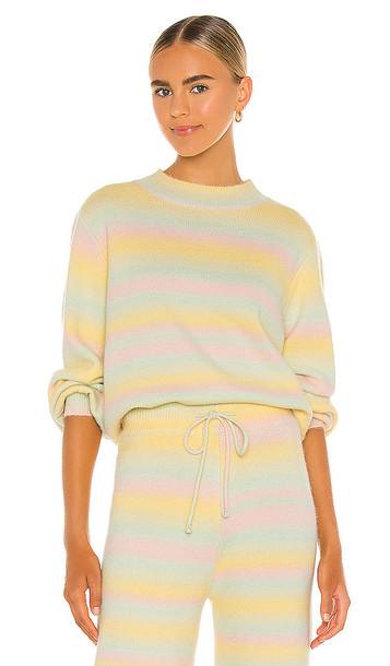 Olivia Rubin Nettie Knitted Sweater in Yellow