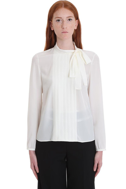 RED Valentino Shirt In White Silk
