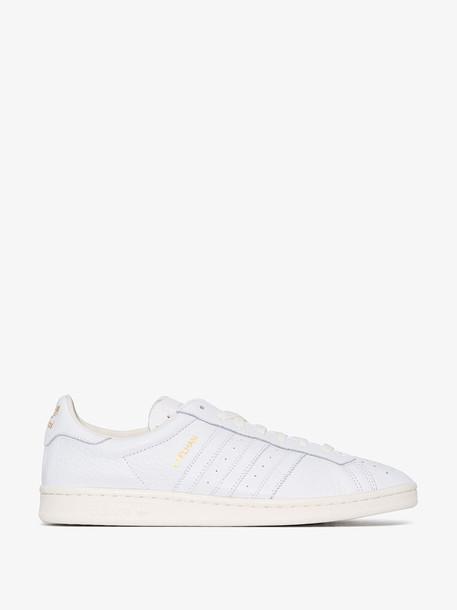 adidas white Earlham SPZL sneakers