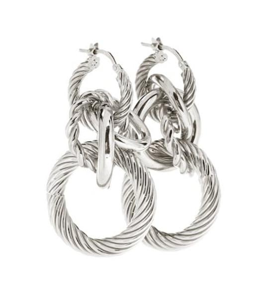 Bottega Veneta Sterling silver hoop earrings