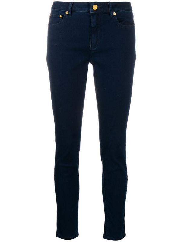 Michael Michael Kors mid-rise skinny jeans in blue
