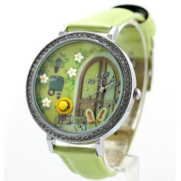 jewels polymer watch original gift shoes hat girl watch handmade watch