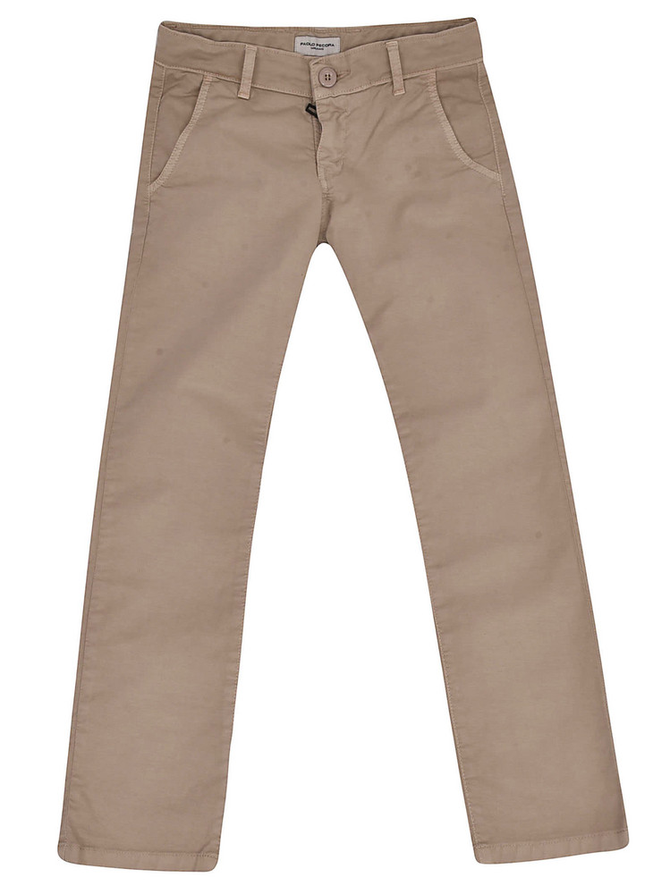 Paolo Pecora Classic Trousers in beige