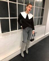 top,blouse,shirt,blogger,blogger style,fashion week,pernille teisbaek