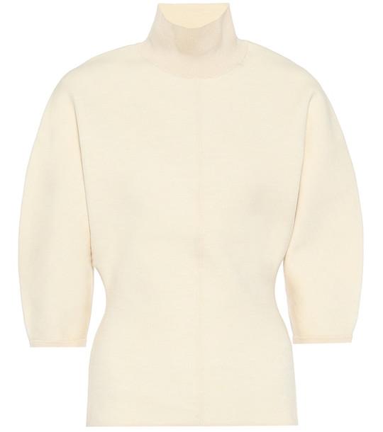 Acne Studios Turtleneck sweater in yellow