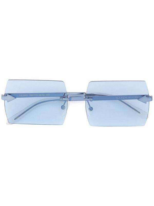Karen Walker The Bird sunglasses in blue